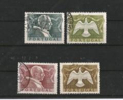 PORTUGAL 1951 CLAUSURA DEL AÑO SANTO DE FATIMA, SERIE COMPLETA - Used Stamps