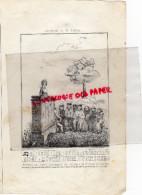 87 -  LIMOGES-PEINTURE SUR VERRE ABBAYE DE SAINT MARTIAL -  RARE GRAVURE DE TRIPON LIMOGES-XIXE SIECLE - Estampas & Grabados
