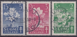Finlandia 1950 Nº 368/70 Usado - Gebraucht