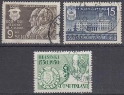 Finlandia 1950 Nº 371/73 Usado - Gebraucht
