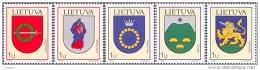 Lietuva Litauen 2003 MNH ** Mi. Nr. 809-813