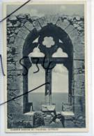 Cyprus Chypre Postcard Mangoian Bros Queen's Window St Hilarion Kyrenia Cyprus 1930s Postcard - Chypre
