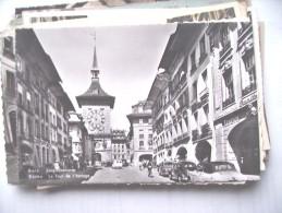 Zwitserland Schweiz Suisse Helvetia BE Bern Berne Bale Turm Und Alte PKW Auto - BE Berne