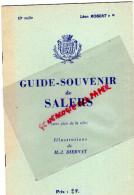15 - SALERS - GUIDE SOUVENIR -LEON ROBERT-ILLUSTRATIONS DE M.J. DIERNAT - Dépliants Touristiques