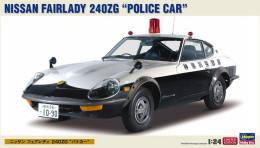 Nissan Fairlady 240ZG Police Car 1/24 (  Hasegawa ) - Cars