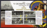 GHANA Personalized Stamps S/Sheet Mnh Olympic Games Stockholm 1912.Javelin/4x100m