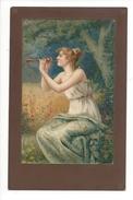 14848 - Femme Jouant De La Flute - Femmes