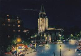 75----PARIS---l'église Saint-germain-des-prés Illuminée---voir 2 Scans - Notre-Dame De Paris