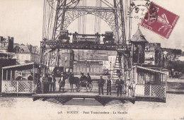 Bc - Cpa ROUEN - Pont Transbordeur - La Nacelle - Rouen