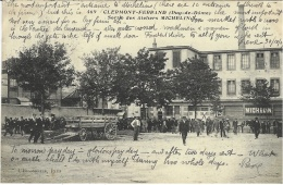 469- Clermont-Ferrand -sortie Des Ateliers MICHELIN -ed. L'Hirondelle - Clermont Ferrand