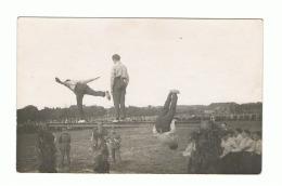 Photo Carte - Joutes Sportives, Gymnastique - Armée Belge - Sports, Caserne,... (524) - Militaria