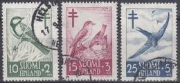 Finlandia 1952 Nº 396/98 Usado - Gebraucht