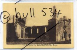 Cyprus Chypre Postcard Avedissian Bros Nicosia No.124 St George The Latin Famagusta 1930s Postcard - Chypre