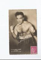 MARCEL CERDAN (BOXE) CARTE PUBLICITAIRE LUNETTE MARCEL CERDAN - Boxing
