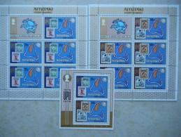 Y031 Cook - Inseln Aitutaki Block 2; KB 118 - 119 Mnh UPU 100 Year - Aitutaki