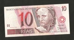 BRAZIL - El BANCO CENTRAL Do BRAZIL - 1 Real + 5 & 10 REAIS (1997 - 2012) Lot Of 3 Different Banknotes - Brasile