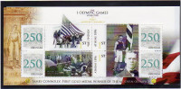 GRENADA  Personalized Stamps S/Sheet Mnh Olympic Games ATHENS 1896 James Connolly Gold Medal Winner.