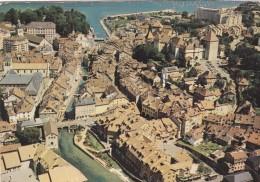 Vue Aérienne Des Vieux Quartiers D'Annecy Et Du Canal Du  Thiou (74) - - Annecy-le-Vieux