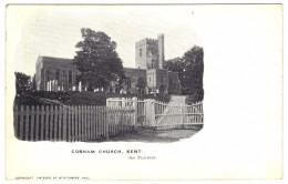 Cobham Church, Kent (see Pickwick) - C1918 - Unused - Other