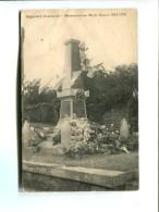 CP - Angecourt (08) Monument Aux Morts - France