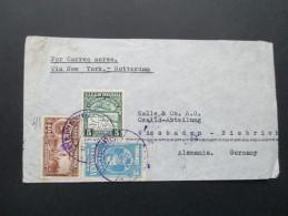 Venezuela 1939 MiF Flugpostbeleg. Via New York - Rotterdam. Por Avion. Desde Caracas Rasta Estados Unidos - Venezuela
