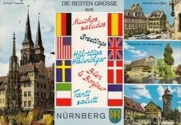 Nurnberg Old Postcard Travelled 1977 D160620 - Nuernberg