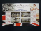 Gambia 2008 Personalized Stamps In S/Sheet Mnh Olympic Games London 1908.Rowing In The Back?
