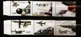 Portugal 2002 N° 2574 / 9 ** Armée, Avion, Hélicoptère, Puma, Fiat, Gina, G.91, Cougar, Alphajet, C-130, F-16, Falcon - 1910-... République
