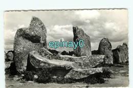 Br - 56 -  CARNAC - Plage - Dolmen De Kermario - Le Berceau  - édition Du Moulin  - RARE - Carnac