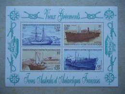 Y057 TAAF, Franz. Antarktis Block 6 Mnh Schiffe, Ship - Tierras Australes Y Antárticas Francesas (TAAF)