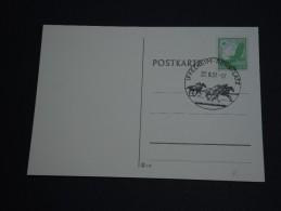 ALLEMAGNE - Document  Avec Oblitération Spéciale ( Chevaux ) En 1937 - A Voir - L 403 - Allemagne
