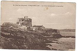 PORQUEROLLES - LANGOUSTIER -  FORT -  C.t - Porquerolles