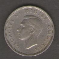 GRAN BRETAGNA 6 PENCE 1948 - Sao Tome Et Principe