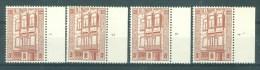 BELGIE - OBP Nr 1204 - Horta Museum - PLAATNUMMER 1/4 - MNH** - Numéros De Planches