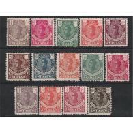 GUI098STV-FTL098.Espagne.Spain .Guinee.GUINEA ESPAÑOLA .ALFONSO XIII. 1914.(Ed 98/110**) RARA - Guinea Española