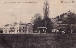 MARBURG An Der DRAU / MARIBOR : STEIERMÄRKISCHE OBST- Und WEINBAU SCHULE / FRUIT And WINE SCHOOL : 1917 (u-517) - Slovenia