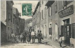 Gard : La Grand Combe, Rue De La Verrerie, Animée - La Grand-Combe