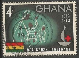 GHANA - N° YT 133 Oblit - Poste Aérienne