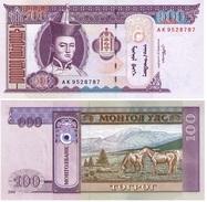 Mongolia 100 Tugrik 2008 Pick 65.b UNC - Mongolia