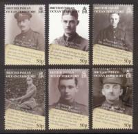 B.I.O.T. 2008 - 90e Ann De La Fin De La 1ere Guerre Mondiale, Lettres  - 6 Val Neufs // Mnh - Territoire Britannique De L'Océan Indien