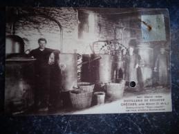 Crèches Distillerie De Bellevue  G Lambert  Alambic Alcool D - Other Municipalities