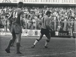 Photography FO000201 - Football (Soccer / Calcio) Dinamo Zagreb Vs Sarajevo 1972-06-07 (24 X 18cm) - Sports