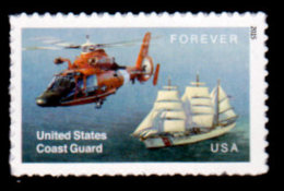 USA, 2015 Scott #5008, US Coast Guard, Forever Single, MNH, VF - Verenigde Staten