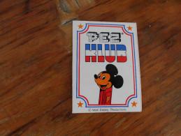 Pez Klub  Walt Disney Productions Pez Klub Ljubljana Membership Card - Pez