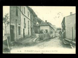 France  : Roquefort  Caves Basses Et Grand´ Rue - Roquefort