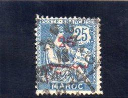 MAROC 1911-7 O - Morocco (1891-1956)