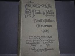 FRANCE – Catalogue Yvert Et Tellier Champion 1929 – Bonnes Références – Lot N° 17149 - France