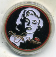 Belle Medaille Comemo,a L'effigie De MARILYN MONROE - Other