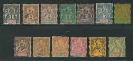 INDE N° 1 à 13  */Obl. - India (1892-1954)
