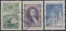 Finlandia 1955 Nº 433/35 Usado - Gebraucht